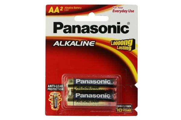Pin AA Panasonic LR6T/2B-V vỉ 2 viên